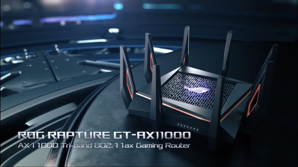 Asus router tri band 802.11ax gaming router