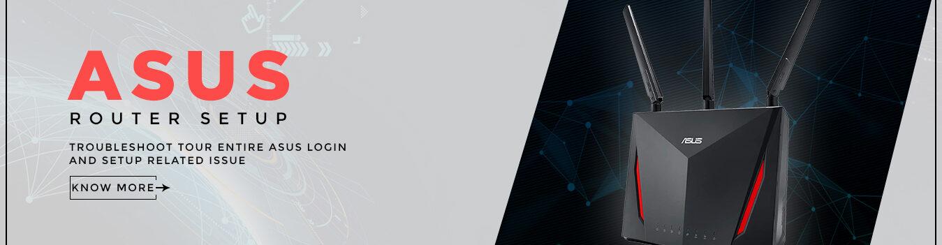 Asus Router Setup Banner