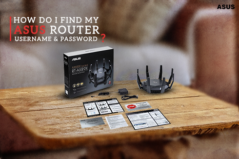 How do I find my Asus router username and password?