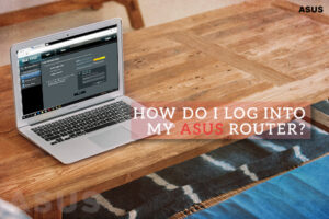 How do I log into my Asus router?