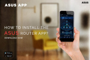 How to install the ASUS router app?