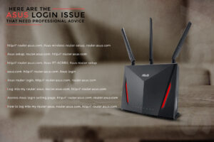 Asus router login issue