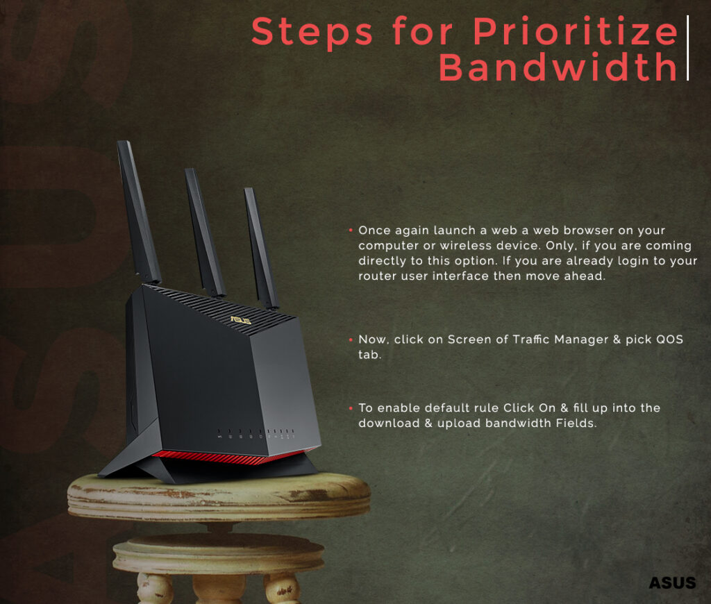 Steps for Prioritize Bandwidth